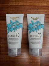 2 Australian Gold Botanical Sunscreen SPF 70 100% Mineral Exp 03/2023 - $19.99