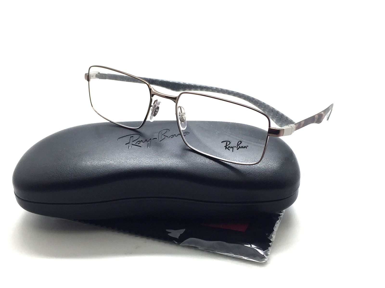 042a518f4ce9 Ray Ban RB 8414 2531 Carbon Plate 55-18-145 and 50 similar items