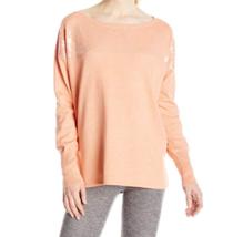 Small 4-6 Lole Women's Jen Sweater Knit Shirt Long Sleeve Iced Tea NEW