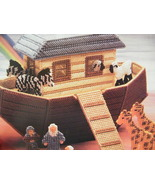 Annies Attic NOAH 'S ARK Plastic Canvas Pattern Out of Print Hard to Fin... - $38.00