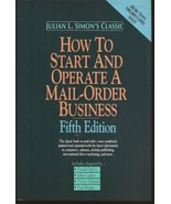 How To Start And Operate A Mail Order Business HC Fifth Edition  - $2.95