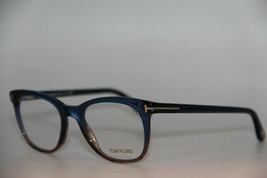 New Tom Ford Tf 5310 092 Blue Eyeglasses Authentic Rx TF5310 50-19 W/CASE - $252.70