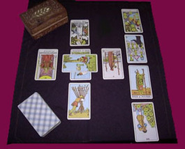 FULL CELTIC CROSS TAROT READING FROM 96 YEAR OLD WITCH ALBINA Witch Cassia4  - $11.50