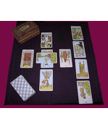 FULL CELTIC CROSS TAROT READING FROM 96 YEAR OLD WITCH ALBINA Witch Cass... - $23.00