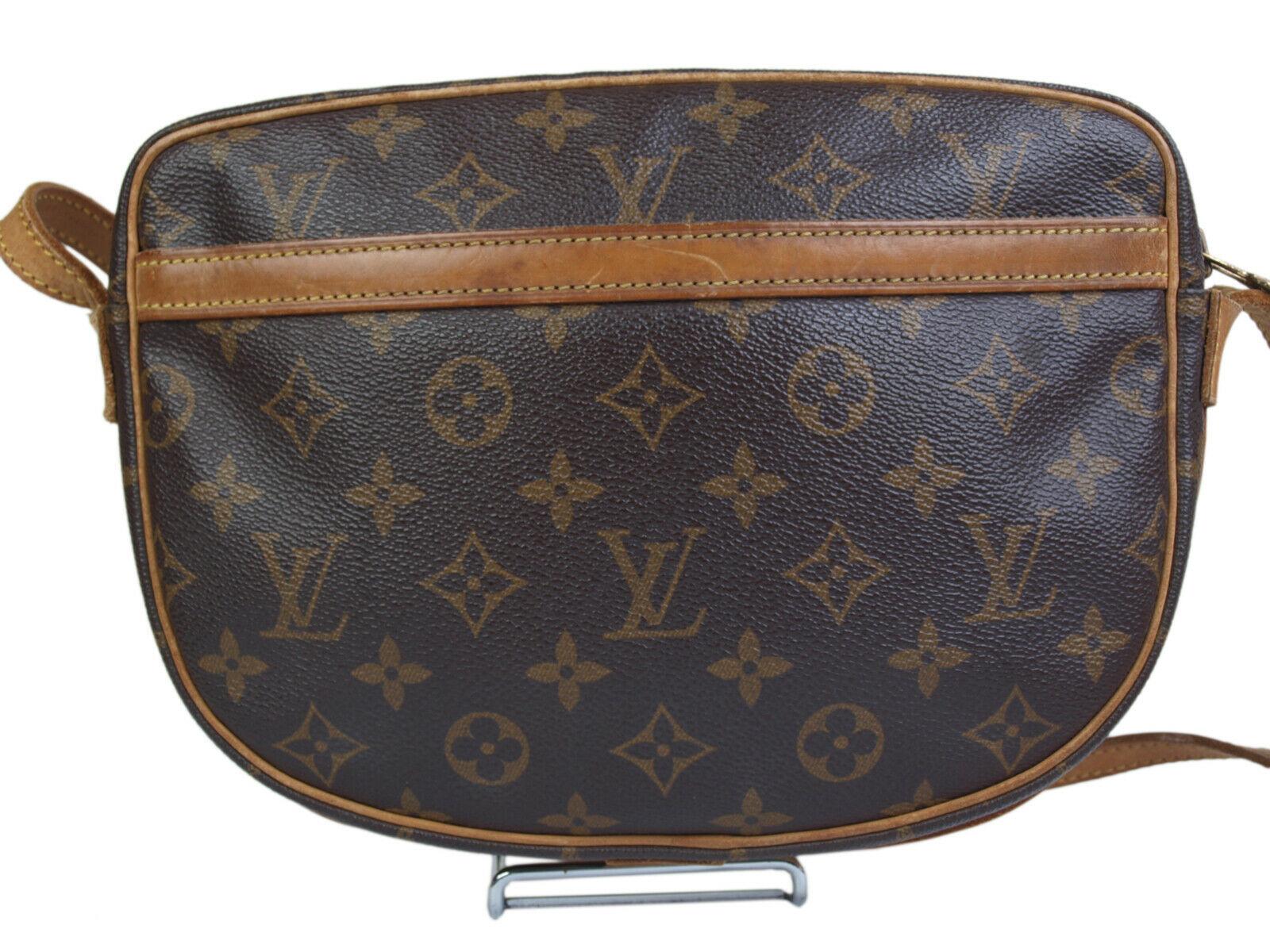 Auth LOUIS VUITTON Jeune Fille Monogram Canvas Cross-Body Shoulder Bag LS17666L