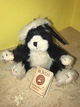 Boyds Bears Stuffed Plush Small Kitty Cat Kitten ~ Frannie ~ Ornament Wi... - $24.99