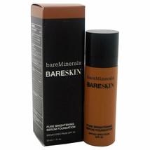 BareMinerals BareSkin Pure Brightening Serum Foundation SPF20 Bare Walnu... - $19.80