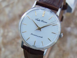 Mens Seiko Cronos 33mm Hand-Wind Dress Watch, c.1950 Vintage Q45 - $840.44