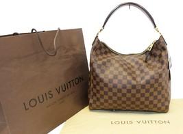 LOUIS VUITTON Damier Ebene Portobello PM Shoulder Bag - $1,579.05
