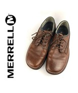 $120 MERRELL Brown Leather Lace Up Oxfords Mens Size 10.5 | 12116 - $42.75