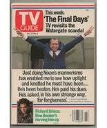 ORIGINAL Vintage October 28, 1989 TV Guide Magazine Richard Nixon Lane S... - $14.84