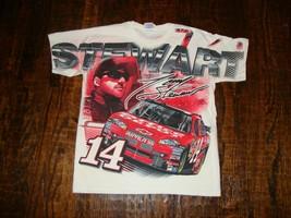 Vintage Tony Stewart Nascar Racing All Over Print T Shirt M - $39.59