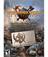 Warhammer Online - Age Of Reckoning - Pre-Paid Timecard - Windows [Windo... - $0.03