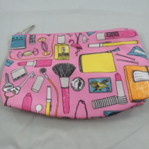 "New ""Clinique"" Flamingo-Pegasus  Cosmetic Bag  9"" - $10.36"