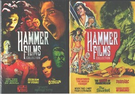 HAMMER FILMS Vol. 1-2: Frankenstein-Mummy-Dr Jekyll-Gorgon-Maniac+More- ... - $21.77