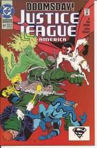 DC Justice League America #69 (Dec 1992, DC) Doomsday Rampage Death Of S... - $4.95