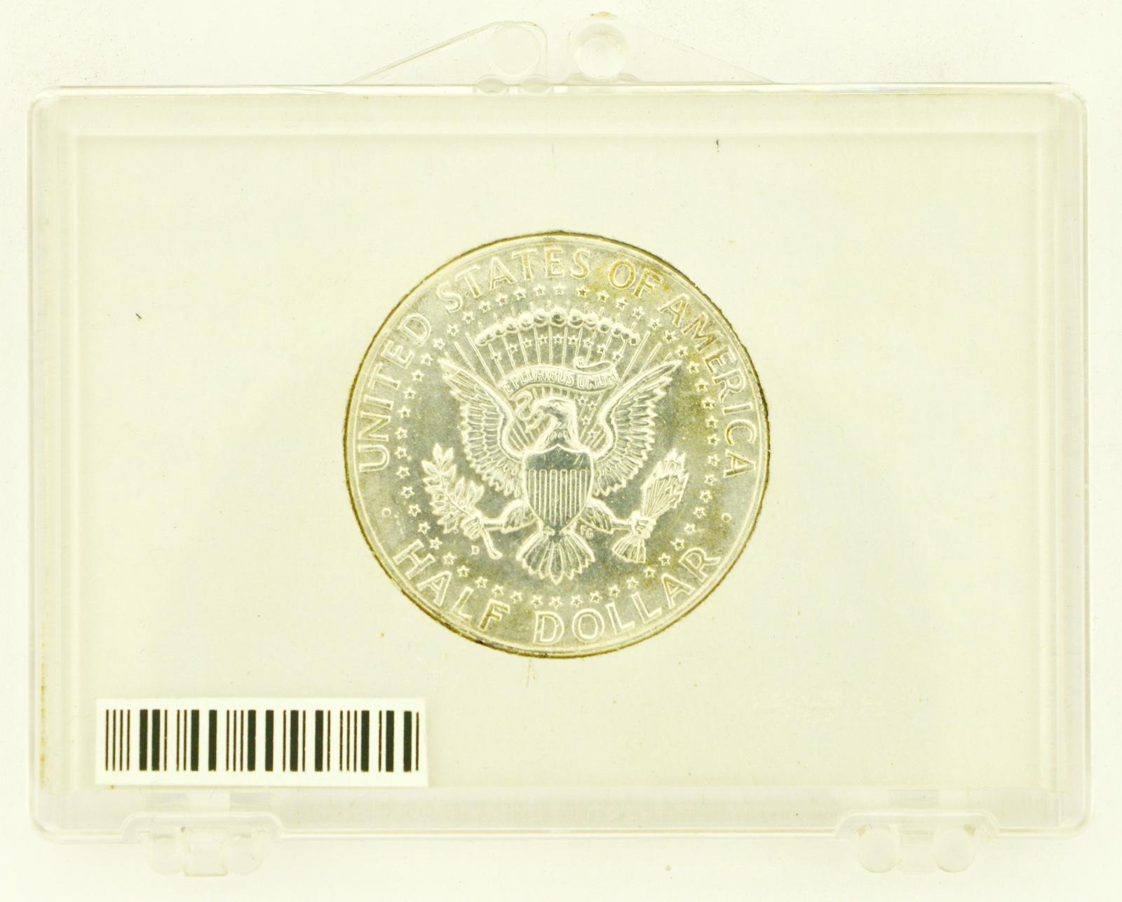 1964-D Silver Kennedy Half Dollar RATING: (UNC) Uncirculated