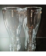 2 (Two) Fred HOPSIDE DOWN Double-Walled Longneck Beer Glasses - $28.49