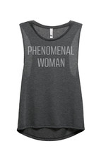 Thread Tank Phenomenal Woman Women's Sleeveless Muscle Tank Top Tee Char... - $24.99+