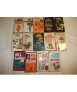 John D. MacDonald lot of 14 vintage paperbacks Novels   only 3 are Travi... - $37.80