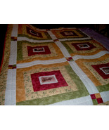 Victorian Photo Floral Quilt -  Queen / King Size - $225.00