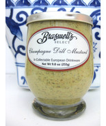 Braswells Select Champagne Dill Mustard, 9 oz glass jar - $21.78
