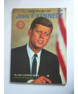 Vintage JFK Wonder Book - The Story of John F Kennedy - by Earl Schenck ... - $11.75