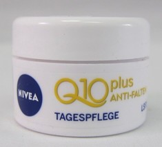 Original GERMAN NIVEA Q10 DAY mini cream -5ml Made in Germany - $4.15