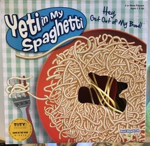 Yeti in My Spaghetti Classic Family Board Game PreK Preschooler Complete - $8.90