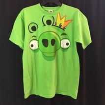 Angry Birds King Pig Mens Medium/ Large graphic Tshirt - $12.48