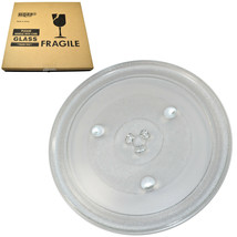 HQRP 12-3/8 inch Glass Turntable Tray for Frigidaire 5304472062 Microwave Oven - $21.95