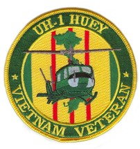 United States Army UH-1 Iroquois HU-1 Huey Vietnam Veteran Patch - $10.88