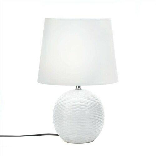 White Fairfax Ceramic Table Lamp - $35.57