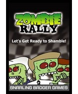 ZOMBIE RALLY Card Game Snarling Badger Games (2005) NEW/MINT Fantasy - $10.00