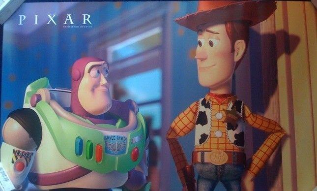 Toy Story 2 Pixar Shareholder Poster Rare Set 4 Woody Buzz Jesse A Bug's Life+