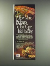 1991 McCormick Mixes Ad - Chili Cheese Log recipe - $14.99
