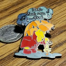 DISNEY MAGICAL MUSICAL MOMENTS LITTLE BLACK RAIN CLOUD WINNIE THE POOH PIN - $14.50