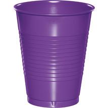 Amethyst 16 oz Plastic Cups/Case of 240 - $63.76