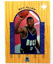 Ray Allen Rookie Card 1996-97 Upper Deck UD3 #5 NBA HOF Milwaukee Bucks  - $3.91