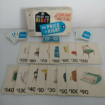 The Price Is Right Board Game 4407 Milton Bradley Vintage 1964  - $19.30