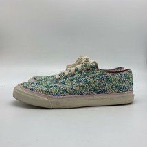 Sperry Top Sider Floral Multicolor Shoes Sneakers, Size 7M - $18.81 CAD