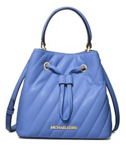MICHAEL MICHAEL KORS Suri Small Quilted Crossbody Bag Oxford Blue MSRP: ... - $168.29