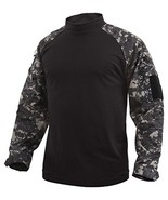 Rothco Combat Shirt, Subdued Urban Digital Camo, Large - $43.99