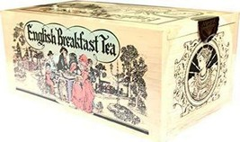 Mlesna Pure Ceylon English Breakfast Tea - 200g Wooden Box - $22.05