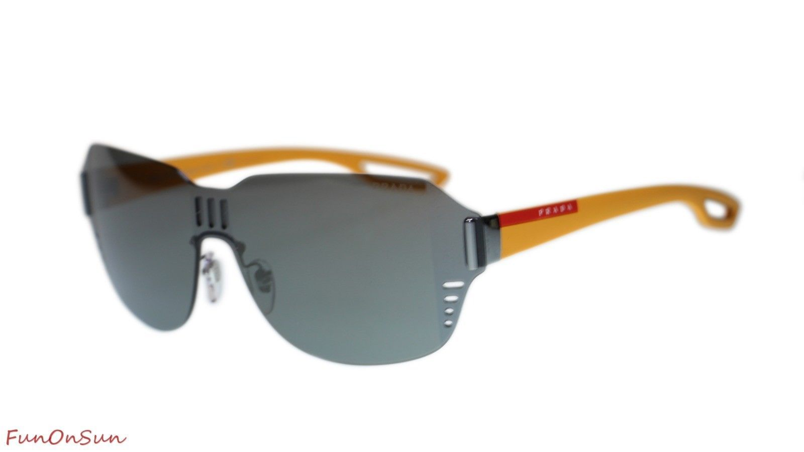 1995d6a9f1 Prada Sunglasses PS05SS 5AV4L0 Gunmetal Dark and 50 similar items. 10