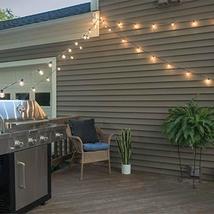 Mr Beams 1W G40 Globe Bulb LED Weatherproof Indoor/Outdoor String Lights, 50 fee image 4