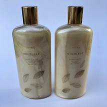 Thymes Goldleaf Bubble Bath 12 oz Full Size Floral Scent New - Lot Of 2 ... - $46.71