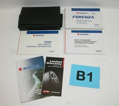 2006 Suzuki Forenza Factory Original Owners Manual Book Portfolio #B1 - $17.77