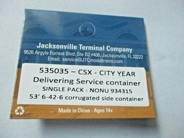 Jacksonville Terminal Company # 535035 CSX- City Year 53' Container (N) image 4