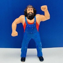 LJN Hillbilly Jim 1984 wrestling action figure toy WWF titan WWE hill bi... - $23.71